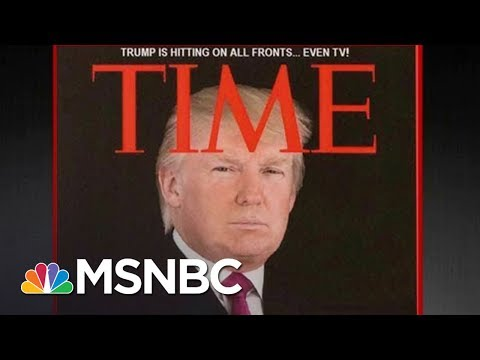 Download Youtube: Fake Donald Trump Time Magazine Cover Hangs At Mar-A-Lago | All In | MSNBC