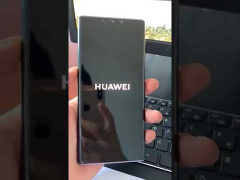 Huawei Mate 30 Pro hands-on video