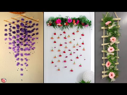 best!-diy-room-decor-!-easy-paper-wall-hanging-making-at-home