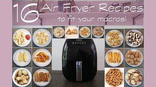 16 (HEALTHIER) AIR FRYER RECIPES