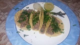 tacos de suadero al estilo chilango