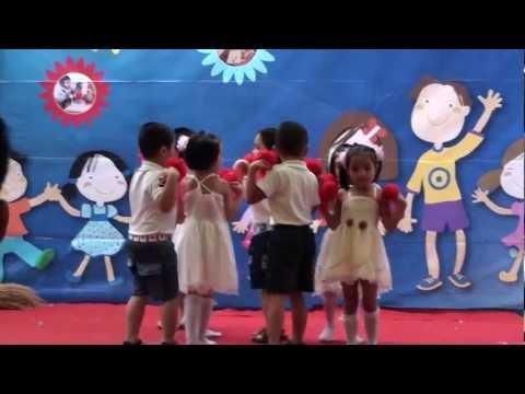 Ca múa: Nụ Cười Hồng -Mầm non Việt Pháp