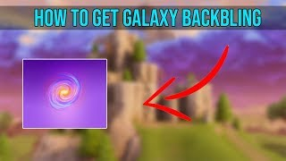 How To Get The Galaxy BackBling In Fortnite! (HXD)