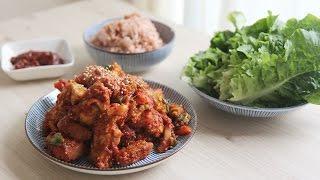 [SUB] 삼시세끼에 나온 제육볶음 : 삼시세끼 차승원 레시피u0026TV Show recipe: How to make stir-fried spicy pork (Korean Food)