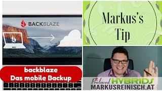 Backblaze, das Online Backup