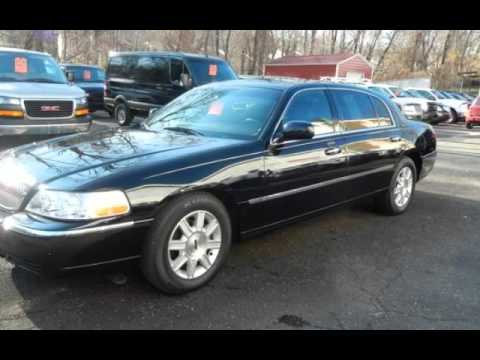 2010 Lincoln Town Car Executive L Limo Black On Black Leather