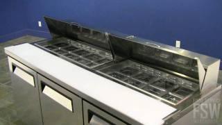 Turbo Air Prep Table Video (mst-72)