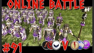"Rome Total War - Online Battle #91 ""The Mighty Hannibal Barca!"""