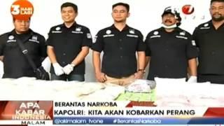 POLISI SITA 106 KG SABU, 200 RIBU EKSTASI & 206 HAPPY FIVE... [BERANTAS NARKOBA]