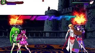 Mugen Request Cure Happy & Cure March Vs Asuna & Yuuki