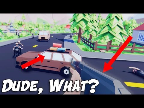 FREE GTA 5 or DUMBEST Game EVER!?  Dude Simulator (Real Life Sandbox Game Meets GTA V)
