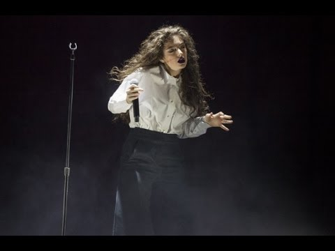 Lorde Live in Chicago Aragon Theatre (almost) Full Concert 2014