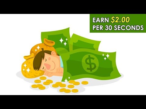 Earn $2.00 Per 30 Sec (Easy Way To Make Money Online)