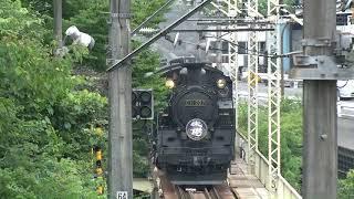 2017.7.16東武SL大樹(鬼怒川渡河)【公開試運転】
