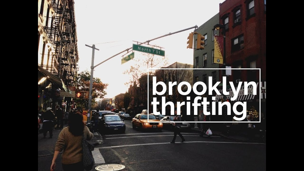 thrift shopping in williamsburg brooklyn nyc youtube. Black Bedroom Furniture Sets. Home Design Ideas
