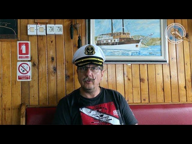 Captain Jörch auf hoher See