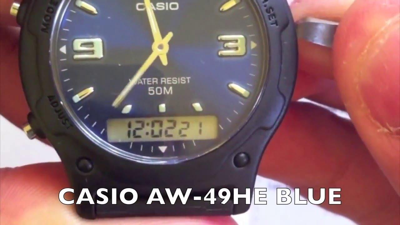 Casio Aw 80v 3bvdf Jam Tangan Pria5 Update Harga Terkini Dan G Shock Gd X6900cm 8 Abu Loreng 49he Blue