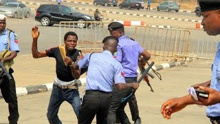 El-Zakzaky: Police teargas, fire on Shiite protest in Abuja