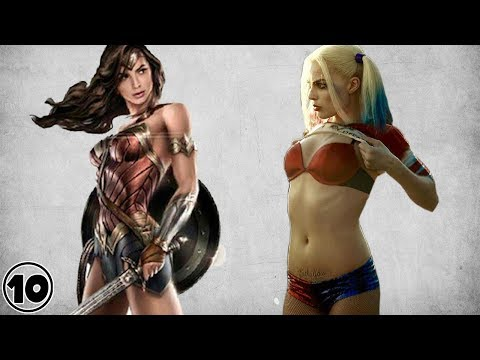 Top 10 Hottest Female Superheroes