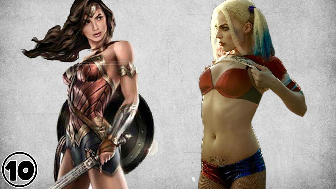 Top 10 Hottest Female Superheroes