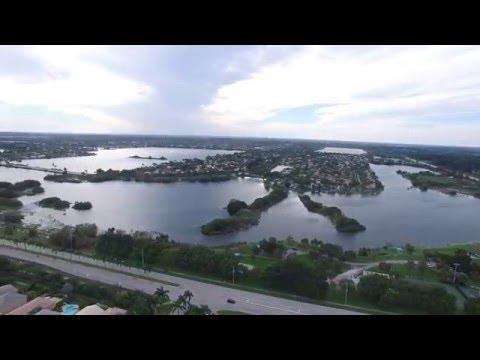 Droning around Pembroke Pines, Florida.