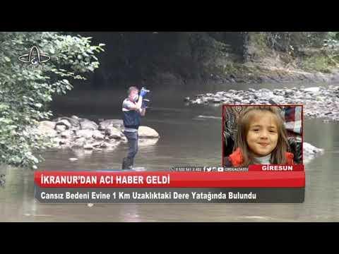 Minik İkra'nın cansız bedenine ulaşıldı I Ordu Altaş TV – 30 Haziran 2020