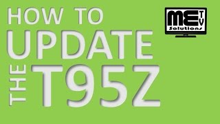 how to update the t95z android tv box