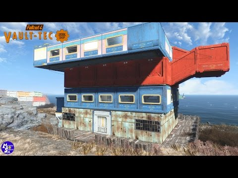 Vault-Tech Workshop|Let's Build Hotel & Casino|Fallout 4