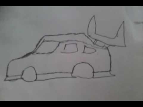 auto zeichnen ganz leicht gemacht Lol