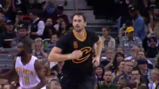 Kevin Love One Handed Dunk and Cross Court Catch