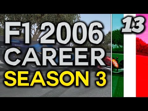 F1 2006 Career Mode S3 Part 13: SURPRISE OF THE SEASON