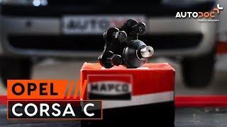 Reemplazar Casquillo de montaje rótula de suspensión OPEL CORSA: manual de taller