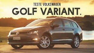 volkswagen golf variant teste webmotors