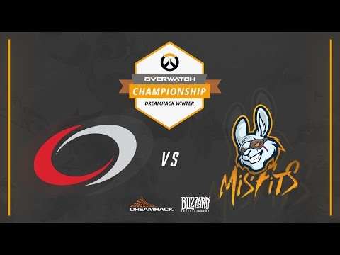 Overwatch - compLexity vs Misfits - Overwatch Championship at DreamHack Winter