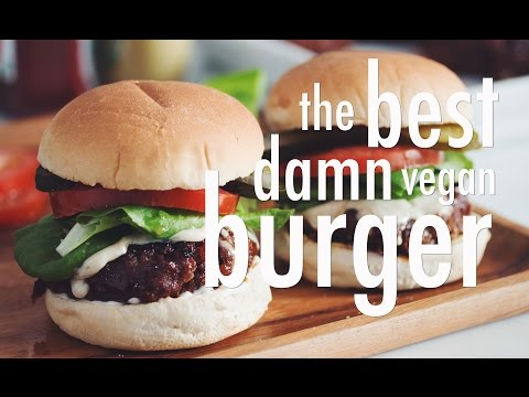 THE BEST DAMN VEGAN BURGER | hot for food