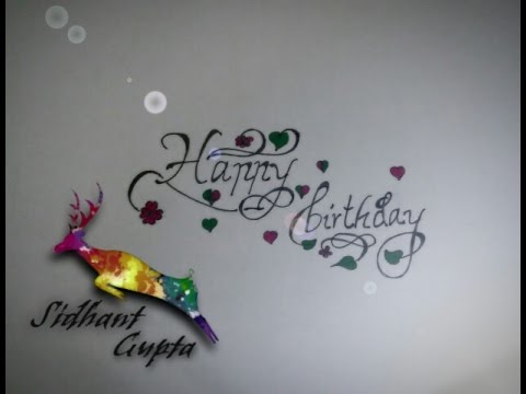 how to write happy birthday in fancy letters how to write happy