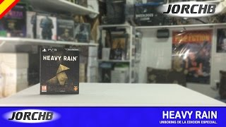 Unboxing | Heavy Rain Edicion Especial