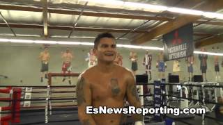 maidana vs mayweather 2 what steve forbes told chino after sparring EsNews