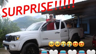 Surprised our Dad with a TRUCK for his Bday!😭🙌🏽💙 AMERICAN SAMOA