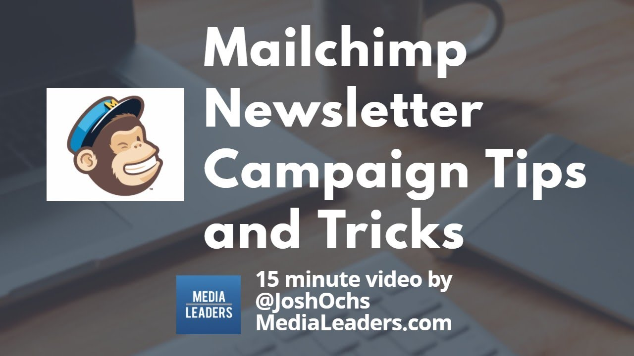 how to add link to mailchimp newsletter