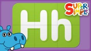 Alphabet Surprise   Tขrn & Learn ABCs   Learn Letter H