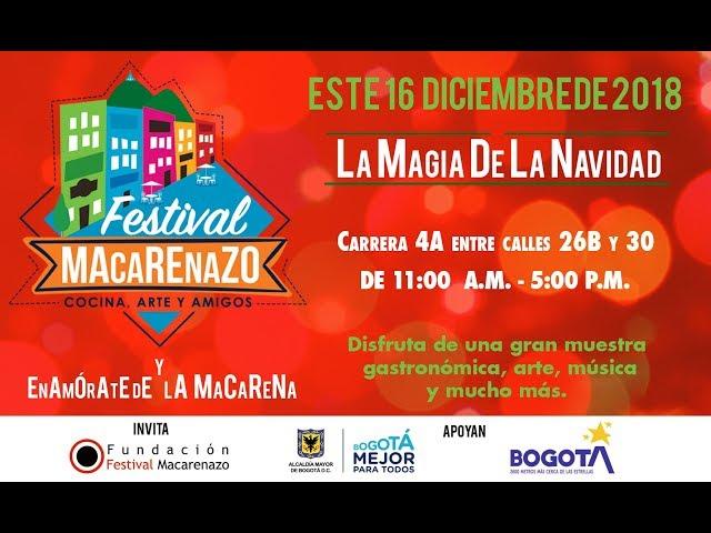 Festival Macarenazo - La Magia de la Navidad 2018