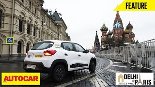 #KwidDrive2Paris | Webisode 08 | The Kwid's Snapshots From Russia