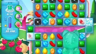 Candy Crush Soda Saga Level 879