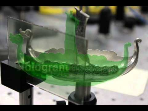 Real Holography in Permanent Photopolymer