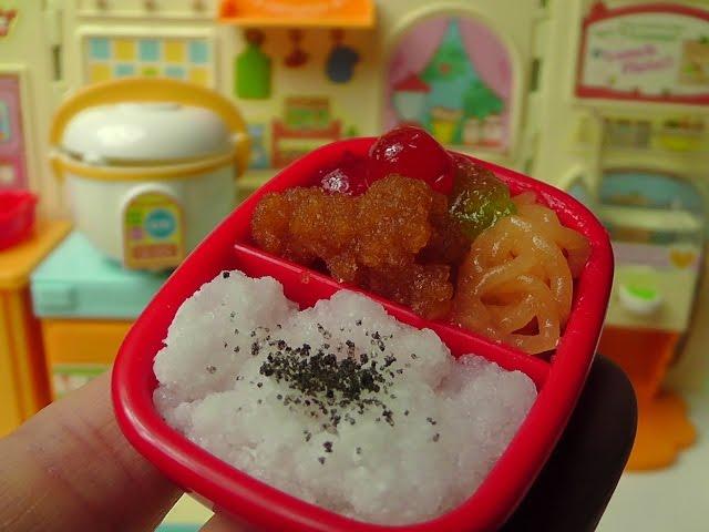 Miniature Food Bento Box Kracie ミニチュアフード クラシエのおべんとう