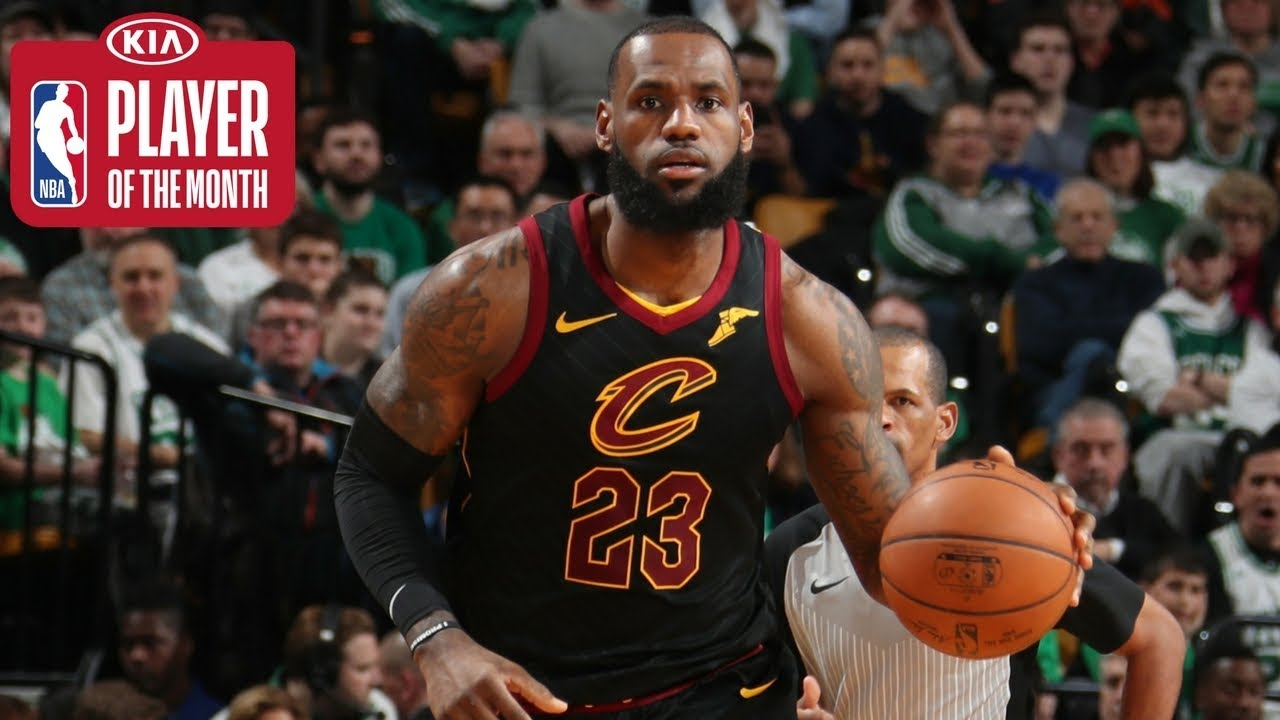 0a91f7276271 LeBron James Averages a Triple-Double for all of February