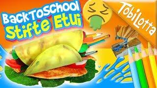 😜Roll Etui BackToSchool basteln - Bastelvideos DIY Kinderkanal Kinderfilme, Kindervideos Basteln 161