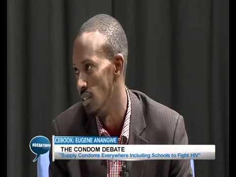 SFH Rwanda team: Butera John Robert Mugabe & Cyrus Ntaganira - Condom Debate on RBA
