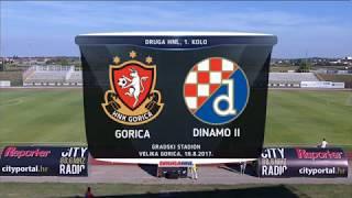 HNTV sažetak: GORICA vs DINAMO II 0:2 (1. kolo, Druga liga 17./18.)
